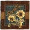 <strong>Thirstystone</strong> Sunflower Farm Travertine Ambiance Coaster Set (Set of 4)