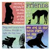 Thirstystone 4 Piece Friends Come in All Sizes Coaster Set