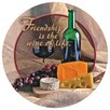 Thirstystone Friendship is the Wine of Life Occasions Coaster (Set of 4)
