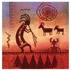 Thirstystone Kokopelli Petroglyph Occasions Coasters Set (Set of 4)