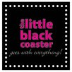 Thirstystone Little Black Coaster Occasions Coasters Set (Set of 4)
