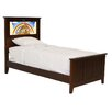 Shaker Twin Panel Bed with Noah's Ark and Dolphins Interchangeable HeadLightz