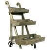 River Cottage Gardens 3 Tier Wood Cart