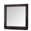 <strong>Wildon Home ®</strong> Casa Café Mirror in Wooden Frame