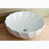 <strong>Kingston Brass</strong> Odyssey China Vessel Bathroom Sink