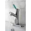 <strong>Kingston Brass</strong> Green Eden Single Handle Bathroom Faucet with Cover Plate