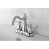 <strong>Kingston Brass</strong> American Classic Double Handle Centerset Bathroom Faucet with ABS Pop-Up Drain
