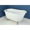 "Kingston Brass Aqua Eden 53"" x 28"" Freestanding Bathtub"