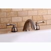 <strong>Kingston Brass</strong> Roman Double Handle Roman Tub Filler
