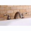 Kingston Brass Roman Double Handle Roman Tub Filler