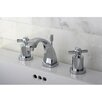 Kingston Brass Millennium Double Handle Widespread Bathroom Faucet