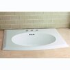 <strong>Kingston Brass</strong> Courtyard China Countertop Bathroom Sink