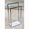 Kingston Brass Edenscape Free Standing Pedestal 2-Tier Towel Rack