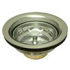 Kingston Brass Made to Match Gourmetier Stainless Steel Kitchen Sink Waste Basket