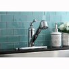 Kingston Brass Vintage Single Handle Pull-Out Kitchen Faucet