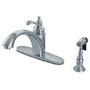 <strong>Kingston Brass</strong> Templeton Gourmetier Single Handle Kitchen Faucet