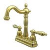 Kingston Brass Heritage Double Handle Centerset Bar Faucet
