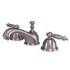 Kingston Brass Templeton Double Handle Widespread Bathroom Faucet with Brass Pop-Up Drain