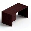 Global Total Office Genoa Executive Desk with Single Pedestal