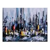 Ren-Wil Metro Heights by Ksenia Sizaya Painting Print on Canvas