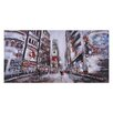 <strong>Ren-Wil</strong> Evening in Times Square by Giovanni Russo Painting Print on Canvas