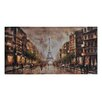 Ren-Wil Summer Evening in Paris by Olivia Salazar Painting Print on Canvas