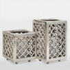 <strong>Ren-Wil</strong> 2 Piece Caravan Aluminum Candle Holder Set