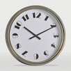 "Ren-Wil Iliad Oversized 24"" Wall Clock"