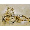 Ren-Wil Bengal Beauty by C. Viens Original Painting on Canvas