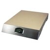 Man Law BBQ Pizza Stone Grill with Thermometer