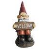 KelKay Resin-Stone Midi Welcome Gnome