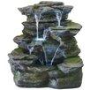 KelKay Resin-Stone Como Springs Fountain