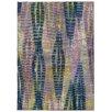 Pantone Universe Prismatic Abstract Purple & Blue Area Rug