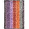 Pantone Universe Prismatic Geometric Purple & Orange Area Rug