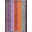 Pantone Universe Prismatic Purple/Orange Geometric Area Rug