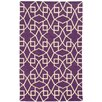 Pantone Universe Matrix Geometric Purple Area Rug