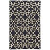 Pantone Universe Matrix Black Geometric Rug