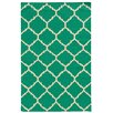 Pantone Universe Matrix Green Geometric Rug