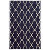 Pantone Universe Optic Navy/Ivory Geometric Area Rug