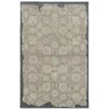 <strong>Color Influence Grey / Green Distressed Look Rug</strong> by Pantone Universe