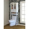 "Jeco Inc. 23.6"" x 70.8"" Over the Toilet Cabinet"