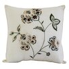 Nostalgia Home Fashions Flowering Vine Pillow