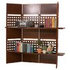 "<strong>Stonegate Designs Furniture</strong> 58.7"" Cebu 4 Panel Shelf Room Divider"