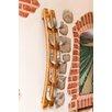 Napa East Collection 5 Bottle Wall Mounted Wine Rack