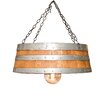 Napa East Collection Top of the Barrel 1 Light Drum Pendant