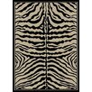 <strong>Ottomanson</strong> Manhattan Animal Print Zebra Rug