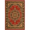 <strong>Ottomanson</strong> Paterson Dark Red Medallion Rug