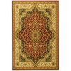 <strong>Ottomanson</strong> Sultan Dark Red Medallion Rug