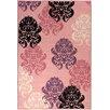 Ottomanson Pink Contemporary Area Rug