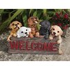 <strong>Design Toscano</strong> Welcome Dogs Sign